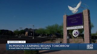 Cactus Shadows High School to begin in-person classes Wednesday following teacher call-outs