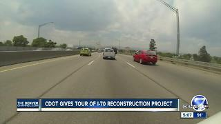 I-70 reconstruction project will last for years, but won't close lanes - Video