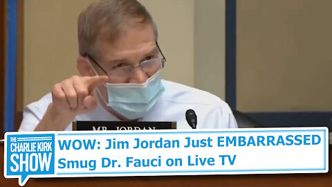 WOW: Jim Jordan Just EMBARRASSED Smug Dr. Fauci on Live TV