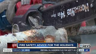 Firefighters warn of dangers with holiday decorations - Video