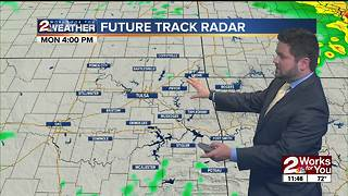 Monday Midday Forecast - Video