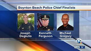 Boynton Beach city manager announces chief of police finalists - Video