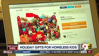 Mariemont high schooler gathering toys for children in homeless shelter - Video