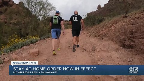 Stay-at-home order now in effect