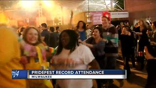 Pridefest Milwaukee sets record attendance - Video