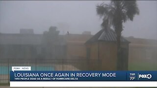 Louisiana recovers after Hurricane Delta
