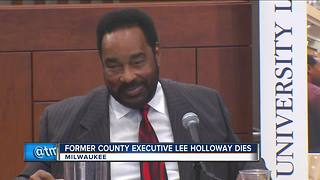 Milwaukee's first African American county executive and board chair dies - Video