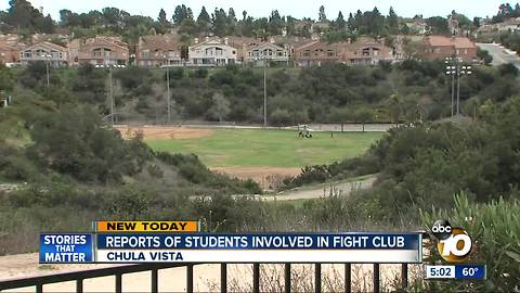 Report of students in fight club