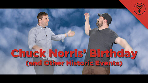 Stuff You Should Know: This Day in History: Chuck Norris' Birthday (and Other Historic Events)