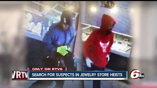 Suspects stole $150K in Kay Jewelers smash-and-grab robberies - Video