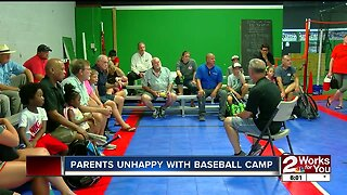 Parents Unhappy with Baseball Camp