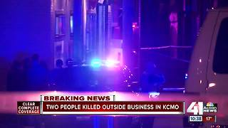 Two men dead after shooting in east Kansas City neighborhood - Video