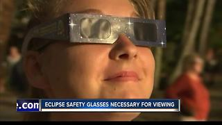 Yes, you really need eclipse safety glasses to view the total solar eclipse