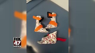 Orthotics stolen from toddler with cerebral palsy