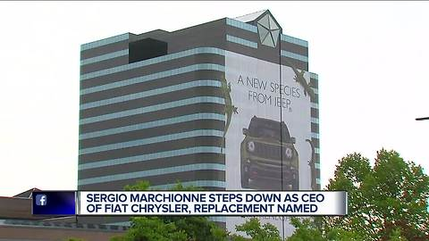 Marchionne steps down as CEO of FCA