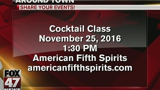 American Fifth Spirits to hold cocktails - Video