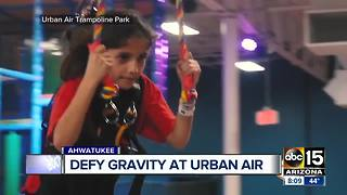 Trampoline park opening in Ahwatukee - Video