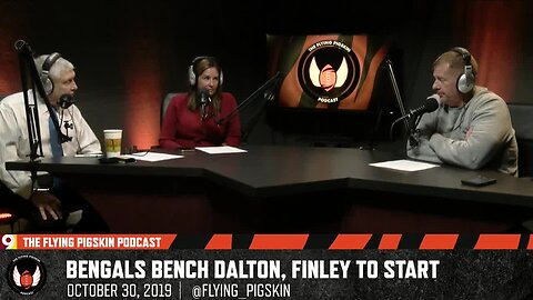 Cincinnati Bengals quarterback Andy Dalton gets benched after 0-8 start | Flying Pigskin, 10/30/19