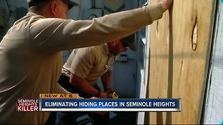 Code enforcement secures abandoned homes following Seminole Heights murders - Video