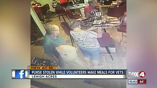 Cameras catch crooks steal a purse at the American Legion Post in Lehigh Acres