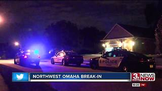 Homeowner assaulted during break-in in NW Omaha - Video