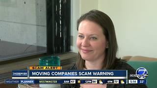 Moving companies scam warning - Video