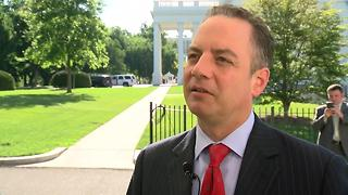 White House Chief of Staff Reince Priebus talks Foxconn development with Charles Benson - Video