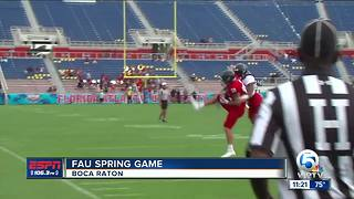 FAU holds 2018 Spring Game - Video