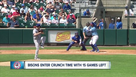Bisons enter crunch time with 15 games left on their schedule