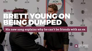 Brett Young on being dumped | Rare Country - Video