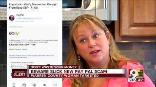 Beware slick new Pay Pal scam - Video