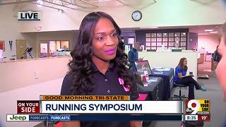 Olympic gold medalist Mary Wineberg at Running Symposium - Video