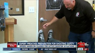 Expert preaches preparedness for active shooter situations