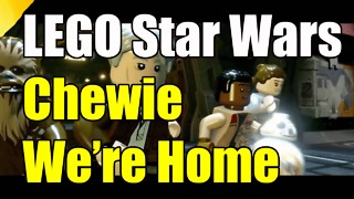 LEGO Star Wars The Force Awakens Chewie Were Home Achievement Trophy - Video