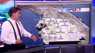 Florida's Most Accurate Forecast with Denis Phillips on Thursday, December 21, 2017