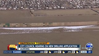 Public meeting tonight on oil & gas project in Aurora