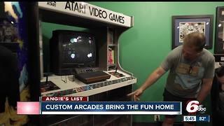Custom arcade games installed in your home - Video