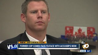 Former Yuma Police officer faces accuser in rape trial