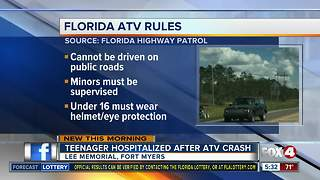 FHP urges ATV drivers to be safe and follow rules of the road