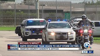 Martin County Sheriff's Office sends Rapid Response Team to assist storm victims