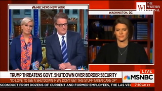 Even Joe Scarborough Had to Admit That 'Most Americans' Agree With Trump on Immigration - Video