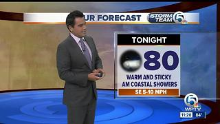 South Florida weather 7/25/17 - 11pm report - Video
