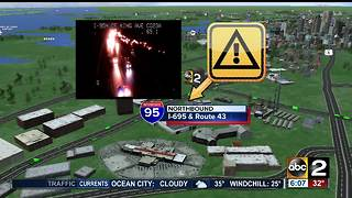 Person struck and killed on I-95 in White Marsh