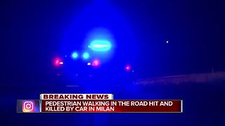 Young person hit and killed walking in middle of Ann Arbor Saline Road - Video