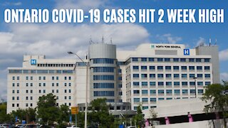 Ontario's New COVID-19 Cases Rise To The Highest We've Seen In 2 Weeks