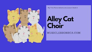 Piano Adventures Lesson Book B - Alley Cat Choir