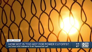 How hot is too hot for power cutoffs in the Valley?