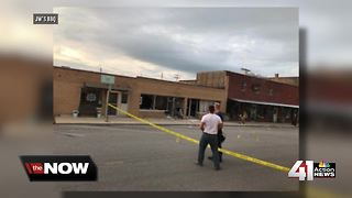 Atchison businesses rebuilding 1 month after explosion - Video