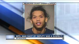 Teen shot by Milwaukee County Sheriff's deputy was suspect in another shooting incident - Video