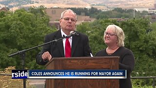 Brent Coles announces he's running for mayor, years after scandal that rocked City Hall